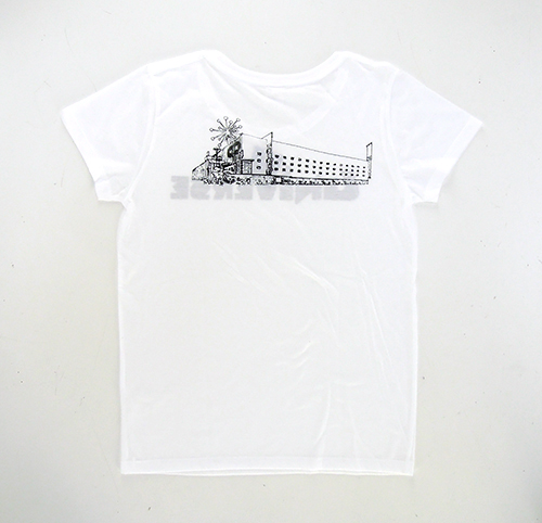 "GalaxyGallery × 味園 / ""UNIVERSE"" Girls T-sht [White]"
