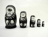 UC EAST / Matryoshka Doll [Black] #5